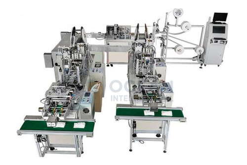 Non Woven Mask Making Machine exporter In Japan, Chine